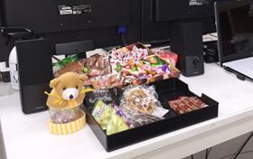 名古屋店お菓子コーナー